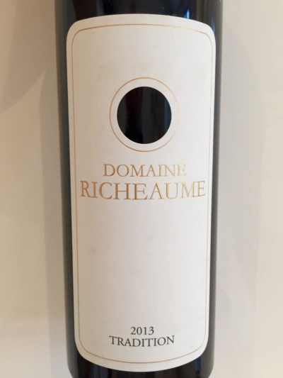 Domaine Richeaume tradition 2013