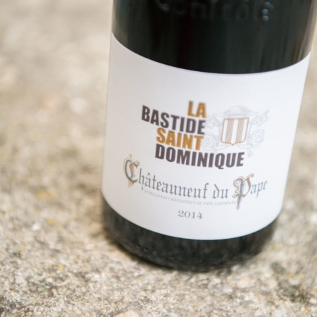 La Bastide Saint Dominique Chateauneuf du pape rouge 2017